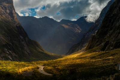Road to Milfordsound, New Zealand