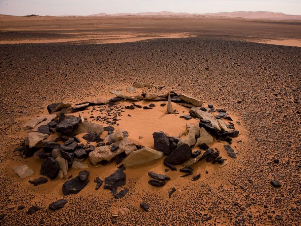 Stone-Marked Grave, Libya