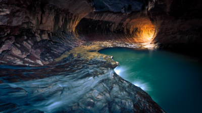 'Subway', Zion National Park, Utah