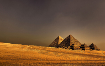 The Great Pyramids, Giza, Egypt