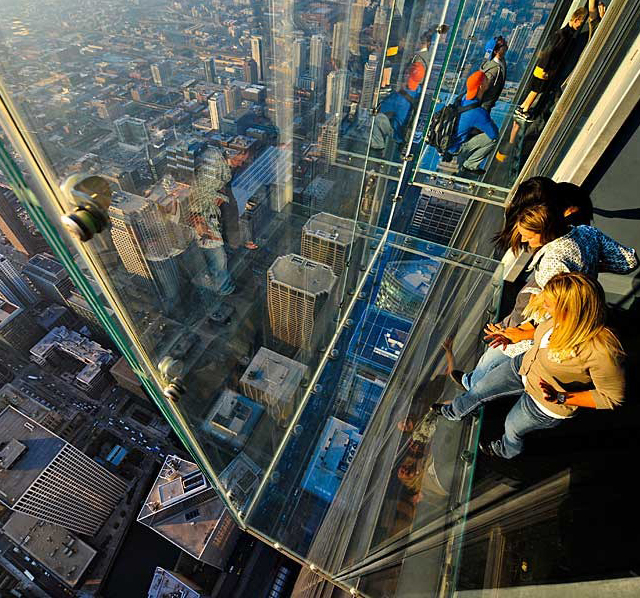 The Ledge, Skydeck, Chicago