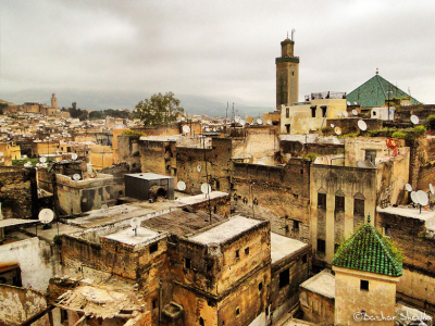 The Old City of Fez, Morocco