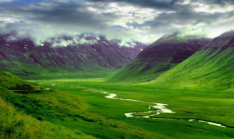Thjorsa river, Iceland