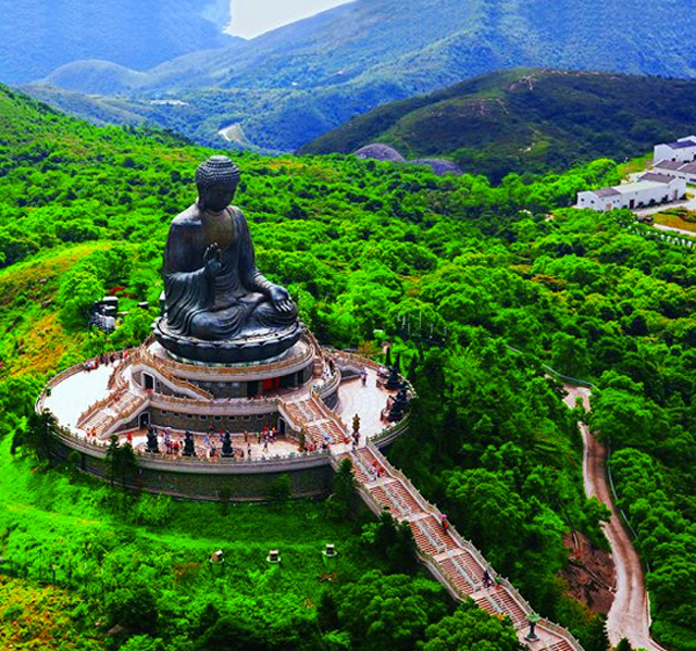 Amazing Hong Kong: Tian Tan Buddha, Lantau Island, Hong Kong Photo On