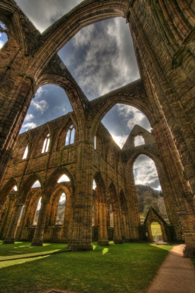 Tintern Abbey, Monmouthshire, Wales