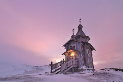 Trinity Church, Bellingshausen Station, Antarctica