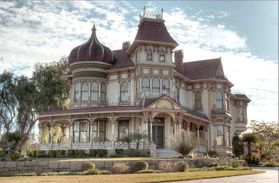Victorian house, Redlands, California
