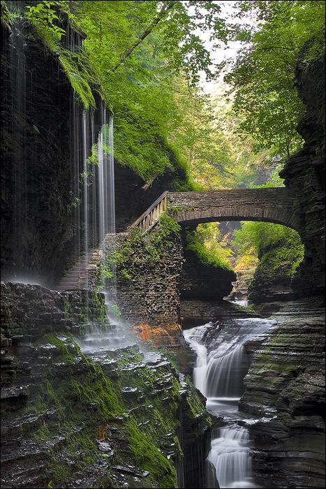 Watkins Glen State Park New York Usa Photo On Sunsurfer