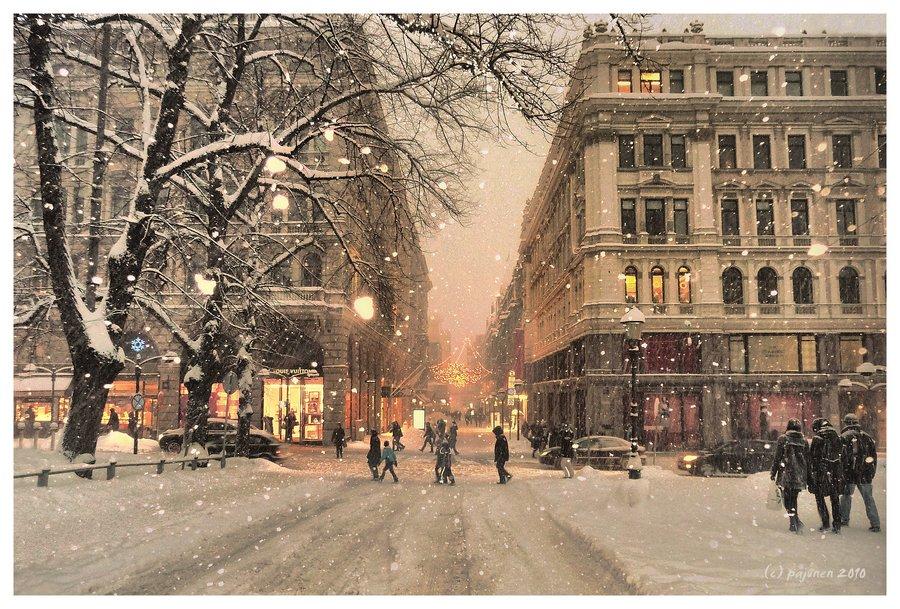 Winter in Helsinki, Finland | Winter wonderland | Pinterest