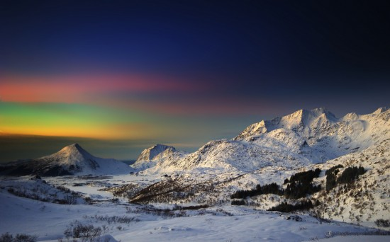 Winter in Lofoten, Norway