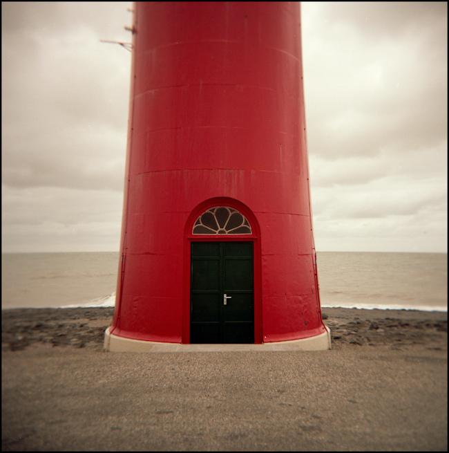 Lighthouse in Zeeland, Netherlands