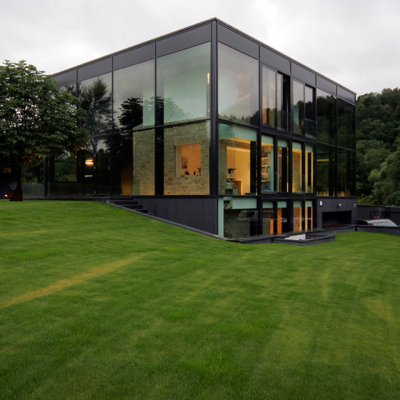 Glass house, Vilnius, Lithuania