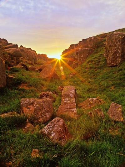 Limestone Corner, Hadrian's Wall, Northumberland, UK
