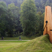 Giant Peg Sculpture, Belgium