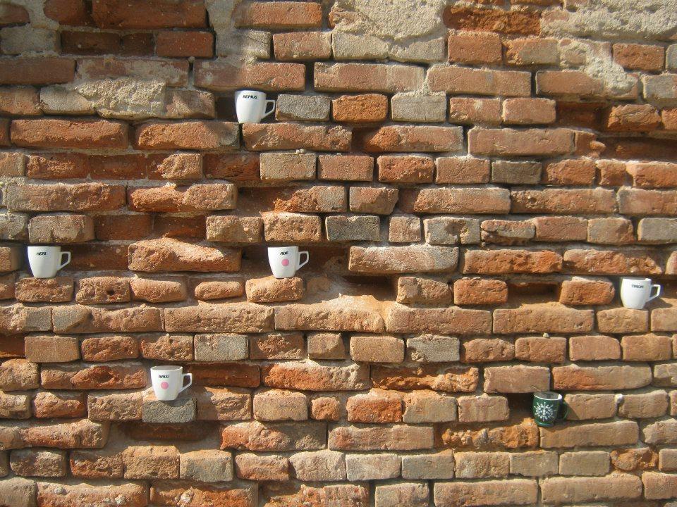 Morning coffee, Sibiu, Romania
