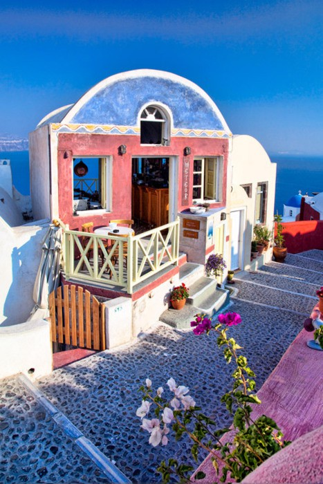 Meteor Cafe, Oia, Santorini, Greece