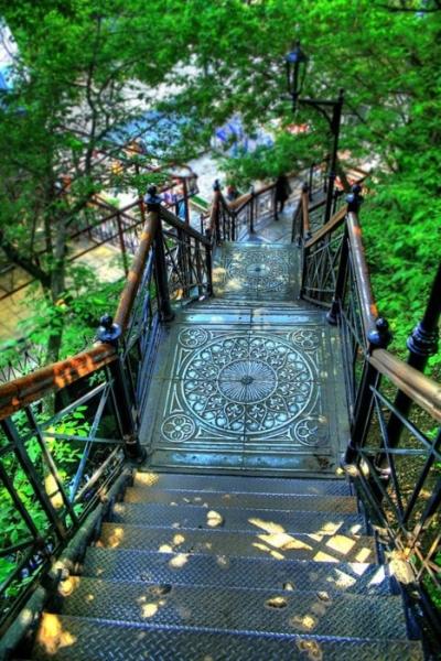 Staircase, Kiev, Ukraine