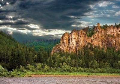 Stone Tree Forest, Yakutsk, Russia