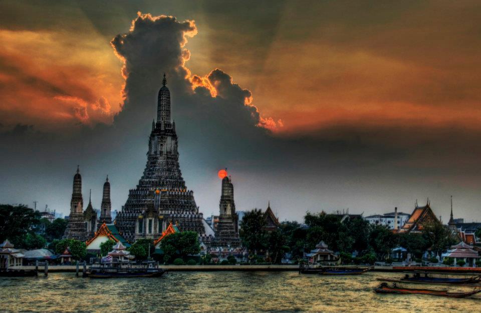 Wat Arun Temple, Thailand