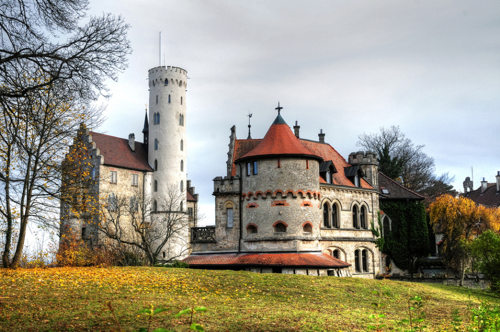 Castle Lichtenstein near Reutlingen, Germany