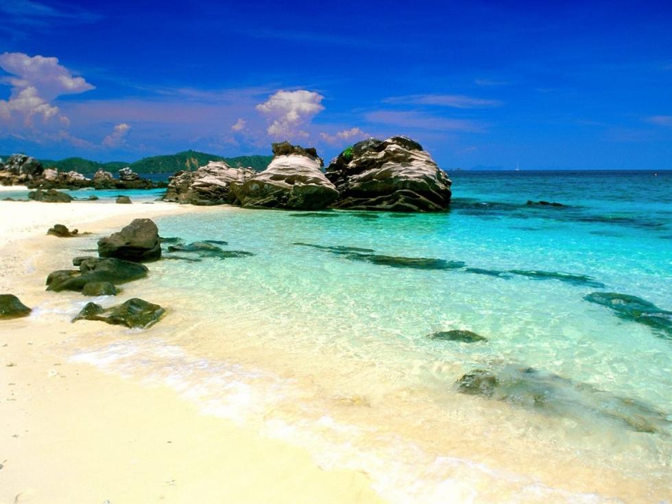 Gorgeous beach, Phuket, Thailand