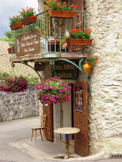 Medieval Village, Yvoire, France