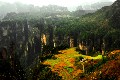 National Park of Zhang Jia Jie, Hunan, China