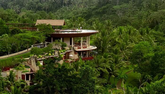 Four Seasons Bali restaurant, Sayan, Bali