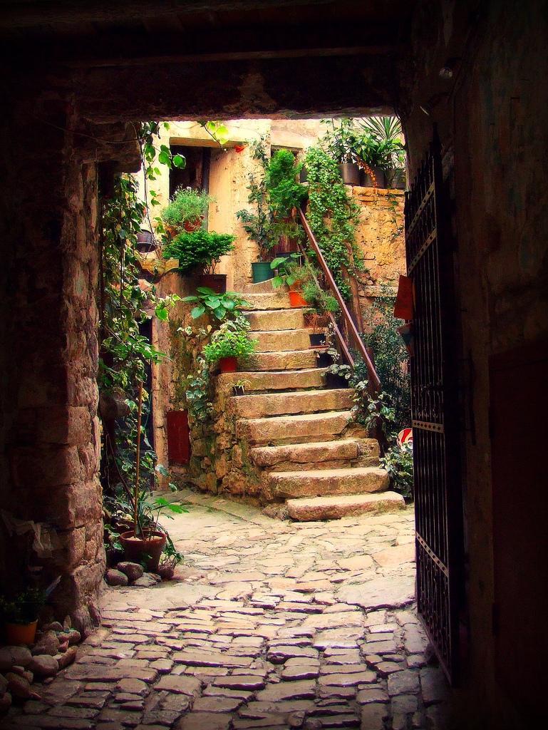 Entryway, Rovinj, Croatia