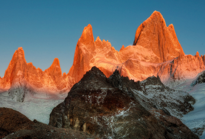 Fitz Roy, Andes Mountains, Patagonia, Argentina
