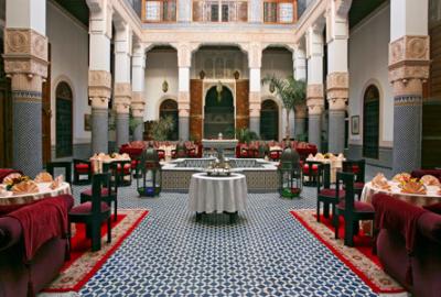 Riad Myra Restaurant, Fès, Morocco