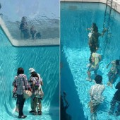 Fake Swimming Pool, Kanazawa, Japan
