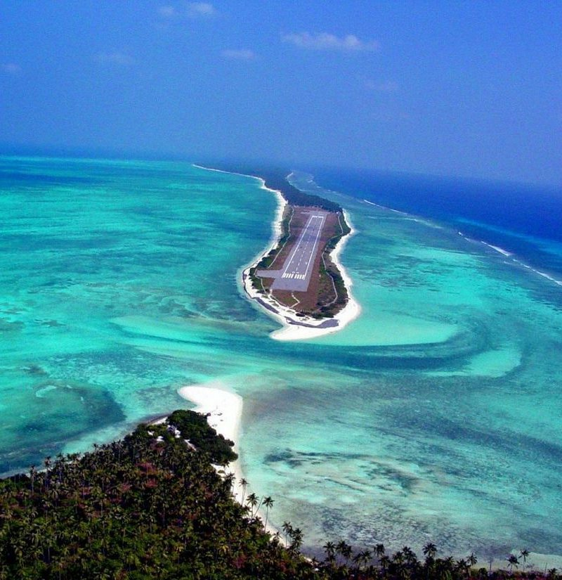 Lakshadweep Airfield, India