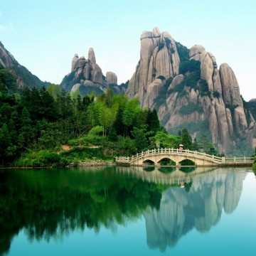 Taimu Mountain, Fujian, China