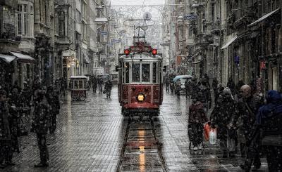 Taksim, Istanbul, Turkey