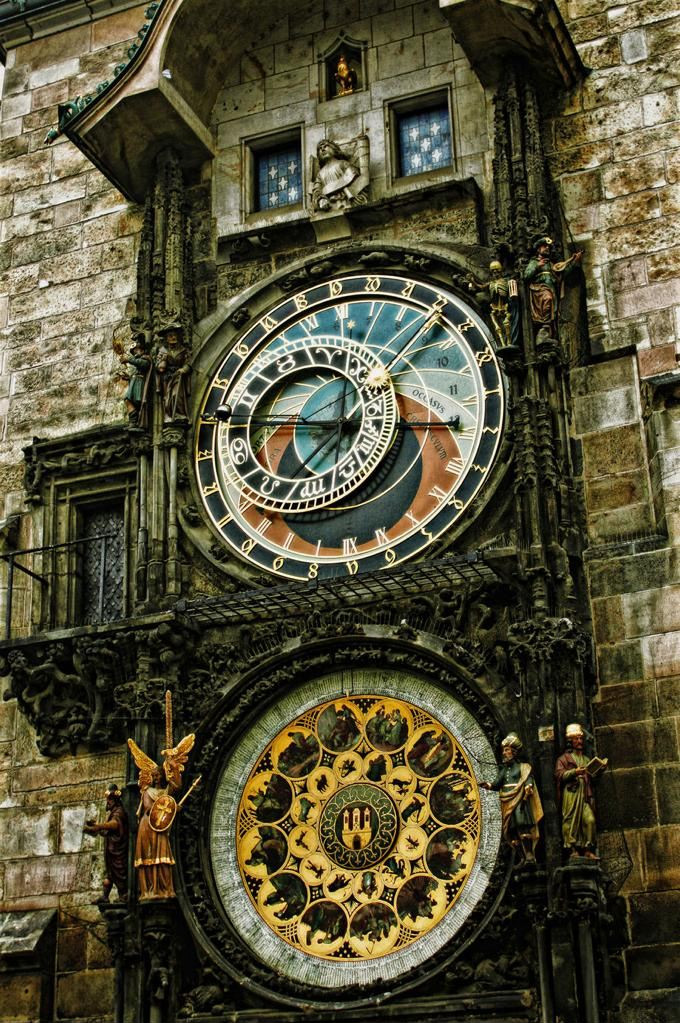 The Prague Astronomical Clock, Czech Republic