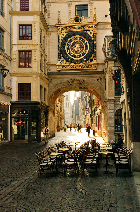 Gros Horloge, Rouen, France