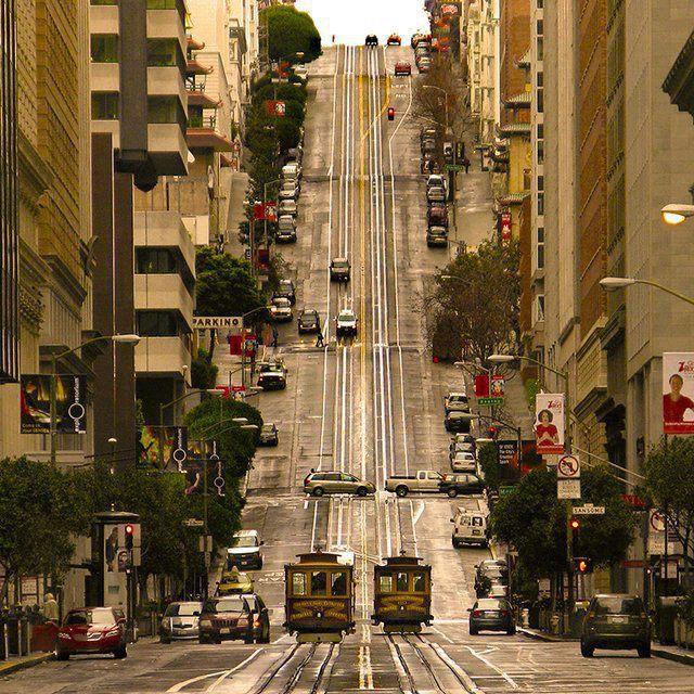 Nob Hill District, San Francisco, California