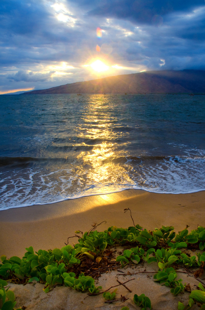 Maui sunset, Hawaii