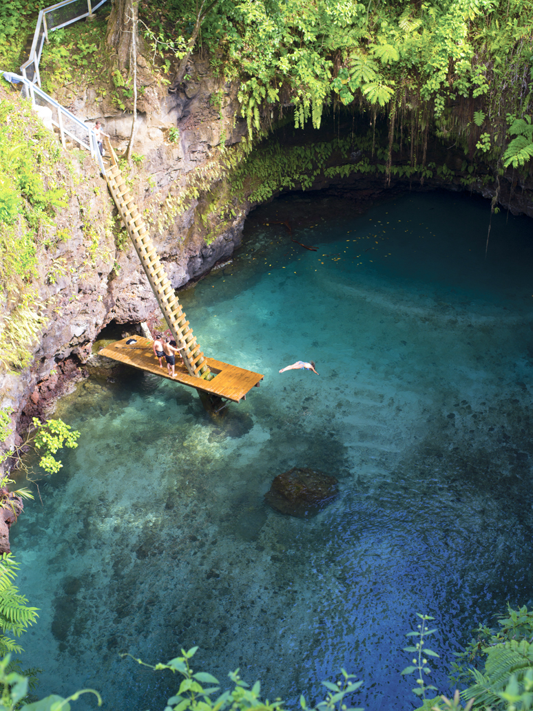 To Sua Ocean Trench Samoa Photo On Sunsurfer