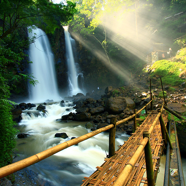 Cinulang Waterfall, Indonesia