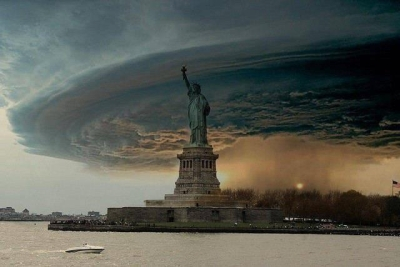 Frankenstorm over New York City, 2012