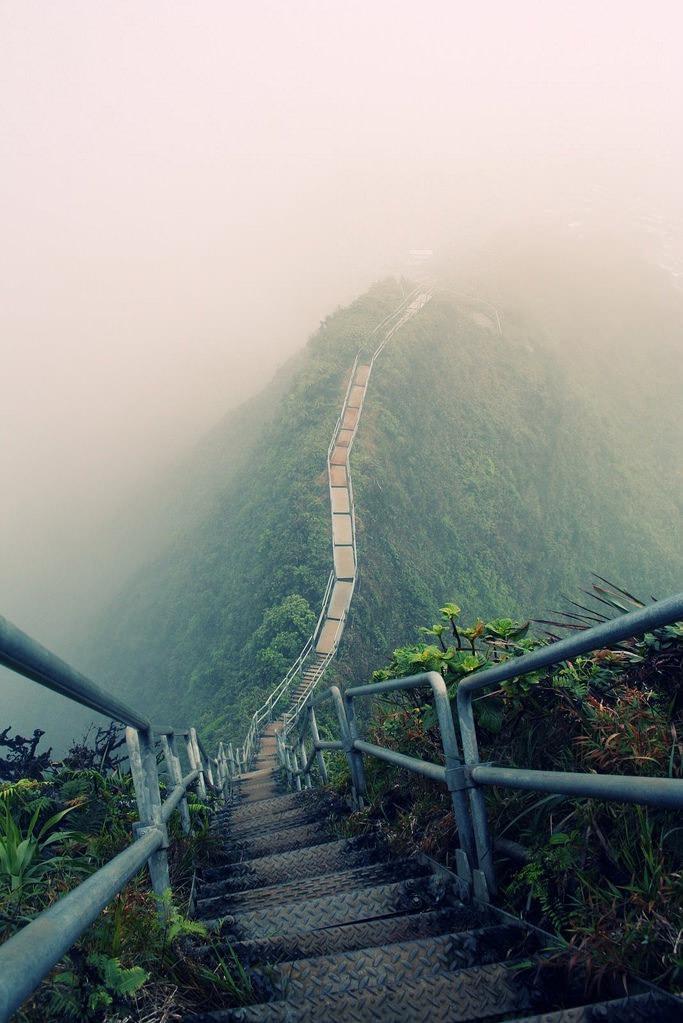 Stairway, Hawaii