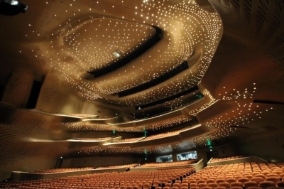 Inside the Guangzhou Opera House, China