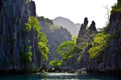 Twin Lagoon, Philippines