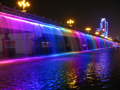 Banpo bridge, Seoul, South Korea