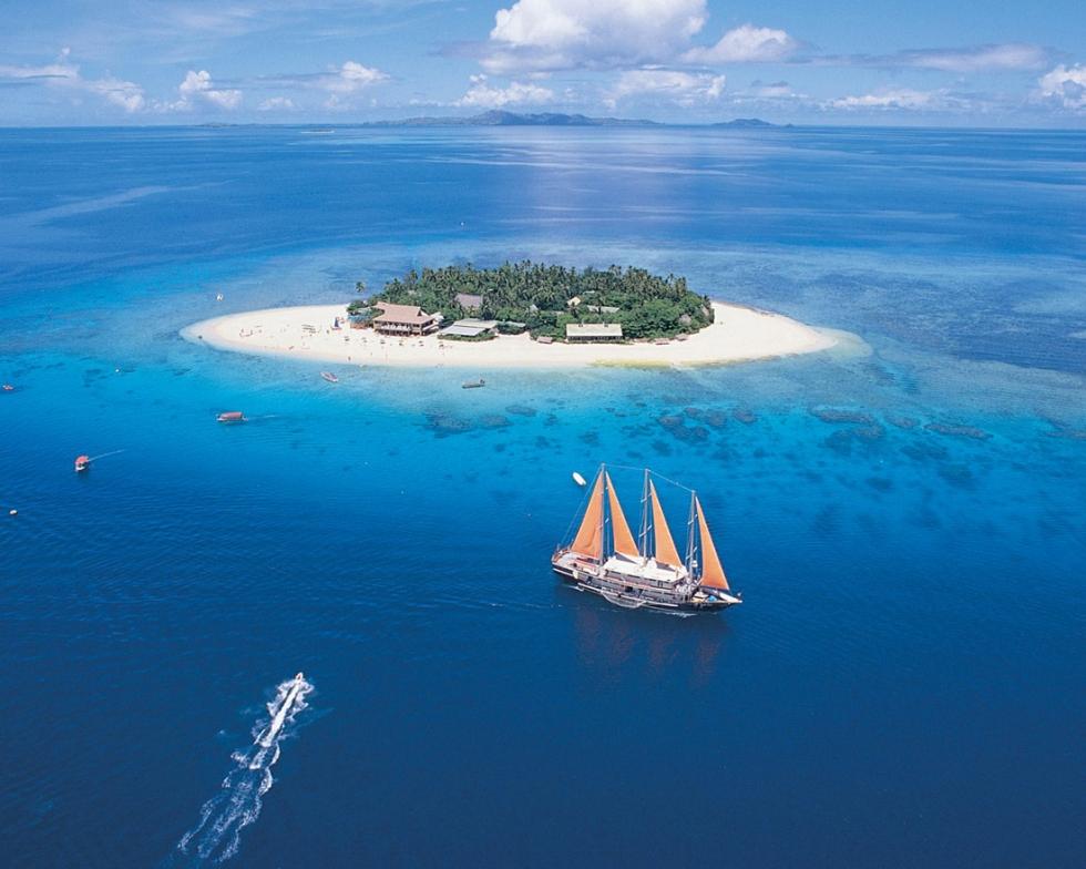 Beachcomber Island Resort, Fiji
