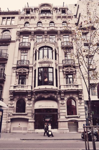 Edifici Hotel Montecarlo, Rambles de Barcelona, Spain