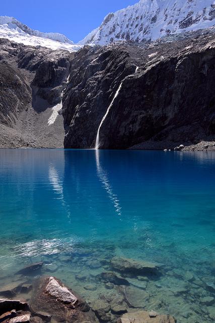 Glacial Lake, Huaraz, Peru