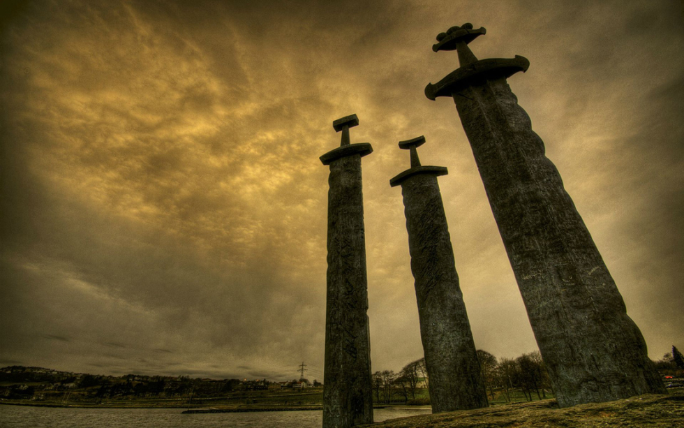 Stavanger Swords Monument, Norway